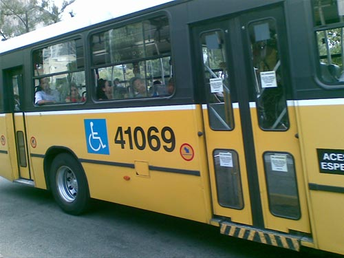 ônibus adaptado