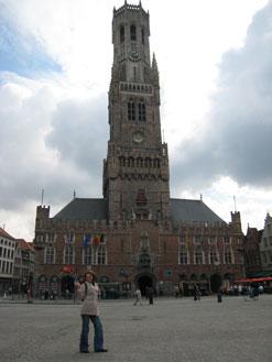 Torre Belfry em Bruges