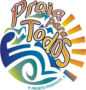Logotipo do projeto Praia para Todos