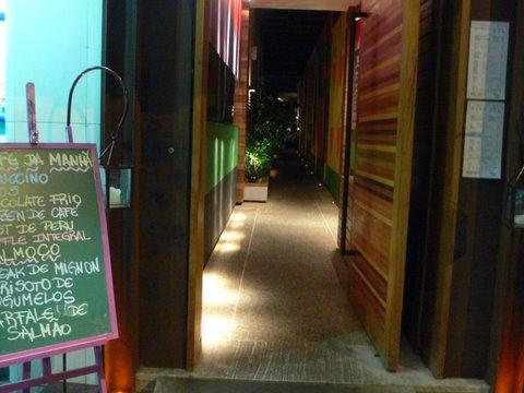 Entrada do Restaurante Market Ipanema