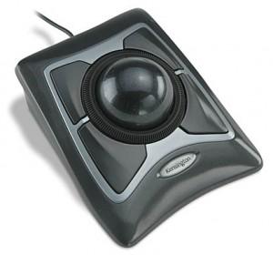 imagem de um mouse trackball