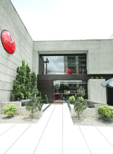 frente do restaurante Aoyama