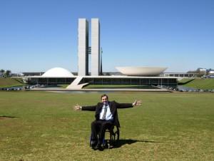 Nickolas no Congresso: cadê a acessibilidade?