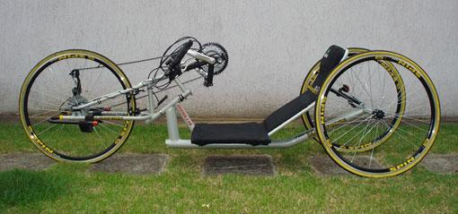 Handbike fabricada pela Handvikn