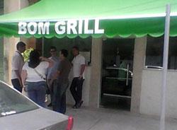 Entrada do restaurante Bom Grill