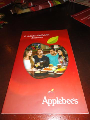 menu applebee's