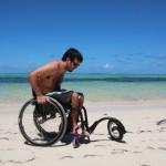 Com uma Freewheel fica bem mais fácil passear pela areia da praia