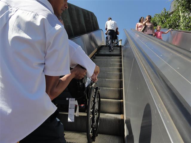 escadas rolantes corcovado