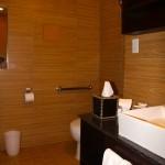 Banheiro do Empire Hotel