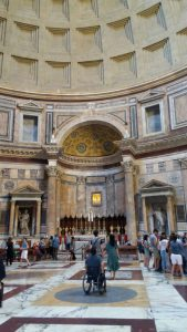 Interior do Pantheon, em Roma